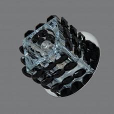 1168 BK Точечный светильник черный